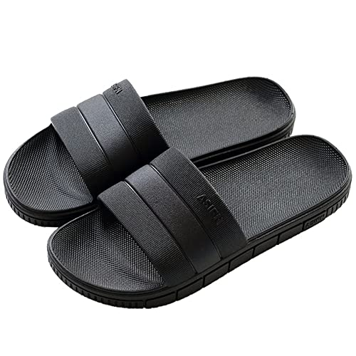 8bd52c07b INFLATION Unisex Bathroom Couples Slippers Non-Slip Soft Bottom ...