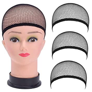 Clearance! Inkach 3pcs Womens Wig Caps ffee9ffe9
