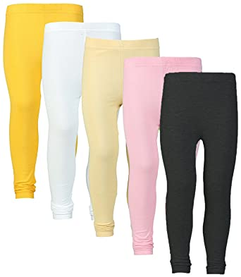 e2c513b05fe12 Plain Designer Pure 100% Summer Leggings For Summers With Different 5  Variety of Colours (Combo of 5 leggings Wholesale rate) (Multi, Free Size):  Amazon.in: ...