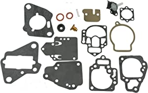 Premium Venom Brand Carb Carburetor Repair Rebuild Kit (Replaces/Compatible With Mercury/Mariner #s ONLY: 1395-9761, 1395-811357, 1395-9645, 1395-9761, 1395-9377, 1395-9803 & 1395-9725)