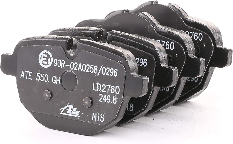 frein /à disque ATE 13047027602/Motorcraft Kit de plaquettes de frein