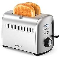 Homever 2 Slice Stainless Steel Toaster