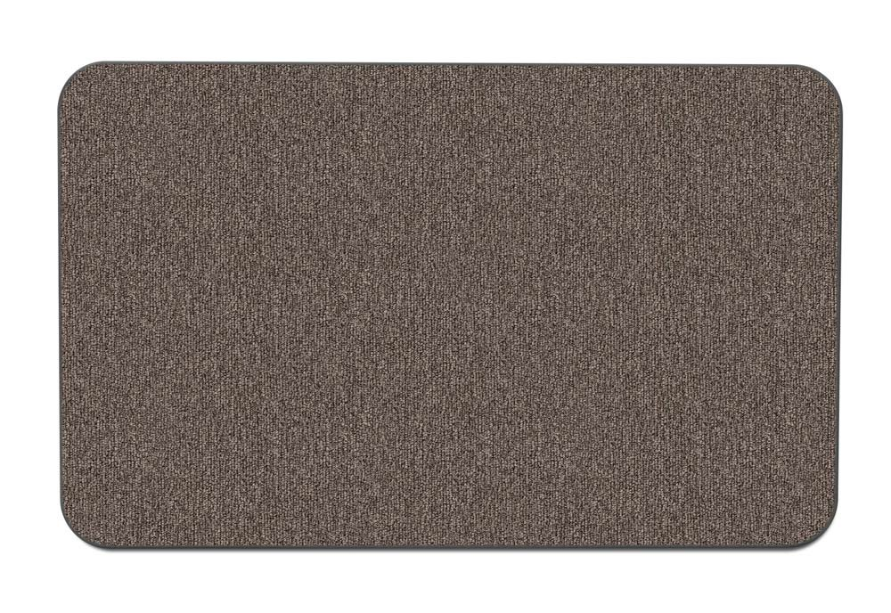 House, Home and More Skid-resistant Carpet Indoor Area Rug Floor Mat - Pebble Gray - 2' X 3' - Many Other Sizes to Choose From