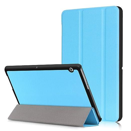 3 opinioni per WindTeco Huawei Mediapad T3 10 Cover- Custodia Ultra Sottile e Leggero con