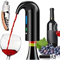 Yoocylii Portable Electric Wine Aerator Pourer with USB Rechargeable