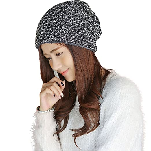 Byyong Women Fashion Winter Warm Cap Crochet Knit Knitted Beanie Hat at  Amazon Women s Clothing store  fbf669210