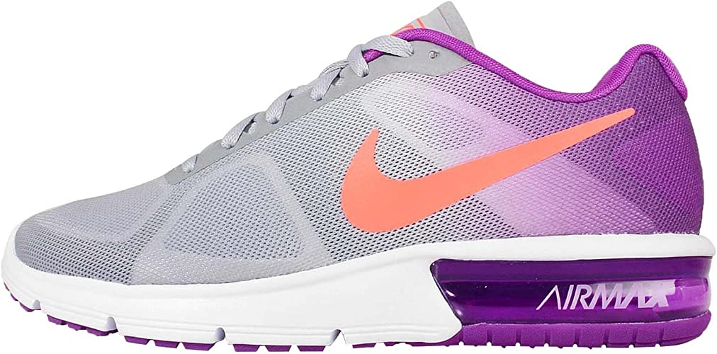 Womens Nike Air Max Sequent Running Shoe Size 5 7 Purple