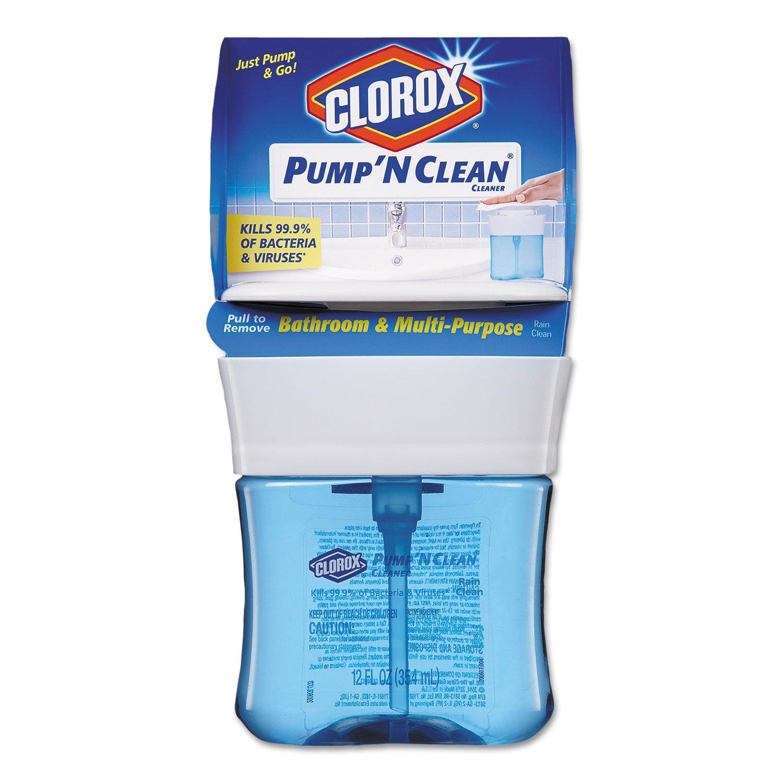 CLO31201 - Pump N Clean Bathroom amp; Multi-Purpose Cleaner
