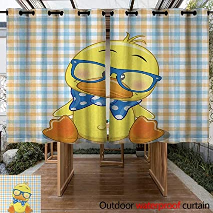 Amazon Com Curtains For Living Room Cartoon Hipster Boho Baby