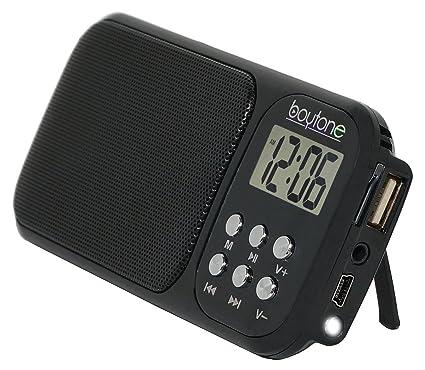 Amazon.com: Boytone BT-92B Portable FM Transistor Radio ...