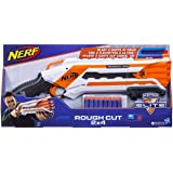 Hasbro A1691 Nerf N-Strike Elite Rough Cut Pump Action Double Barrel 8 Darts Included