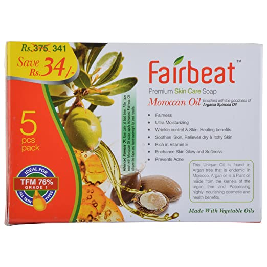 Buy Fairbeat Moraccan Soap - ( 375Grams) Online at Low Prices in