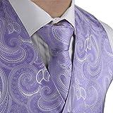Epoint EGD1B01A-XL Medium Purple Paisley Vest