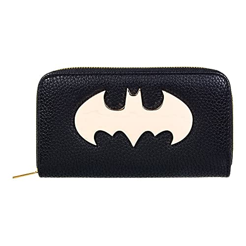 Monedero y billetera mujer Batman. logo. DC Comics: Amazon ...