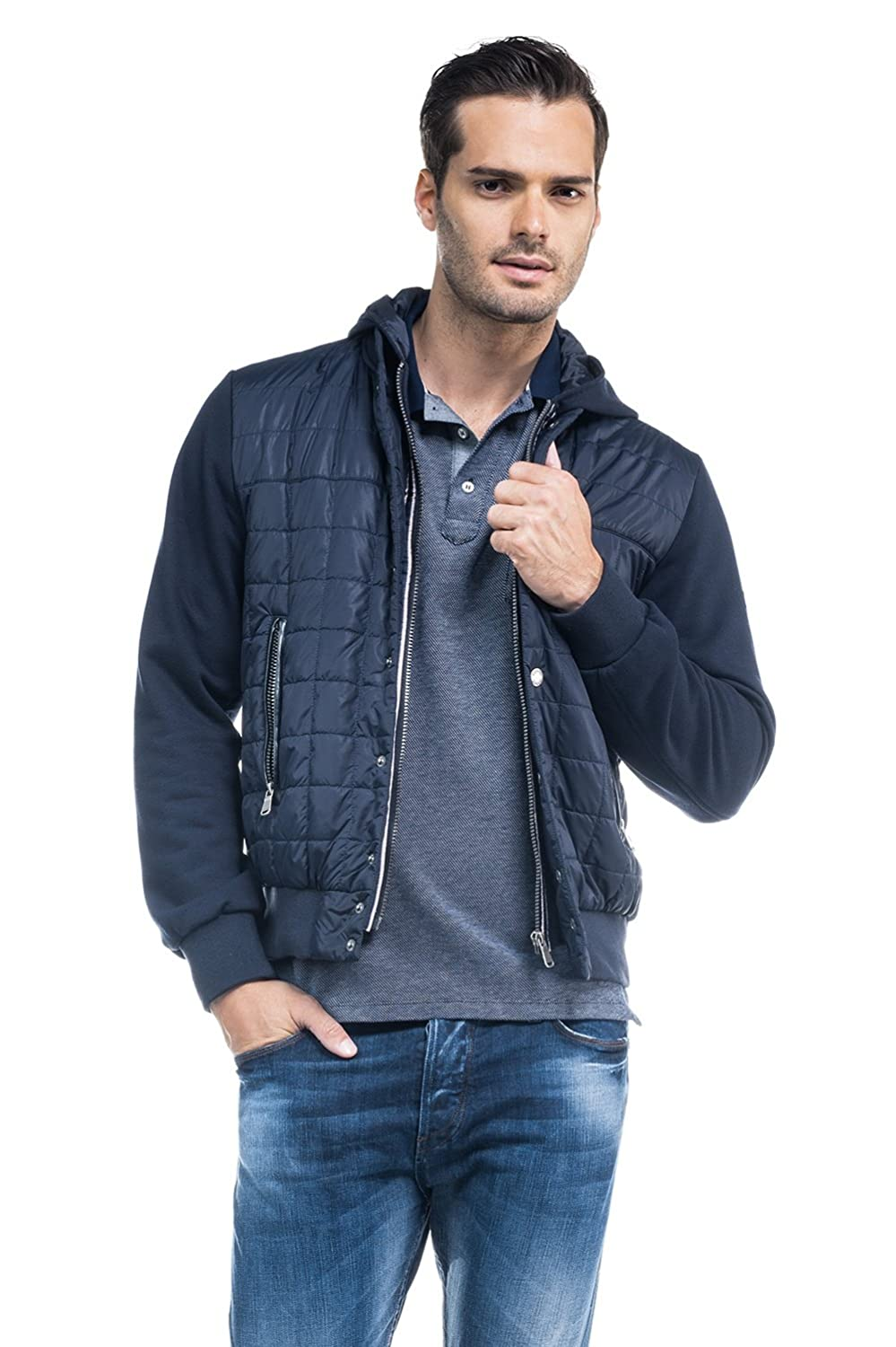 SALSA Quilted bomber jacket