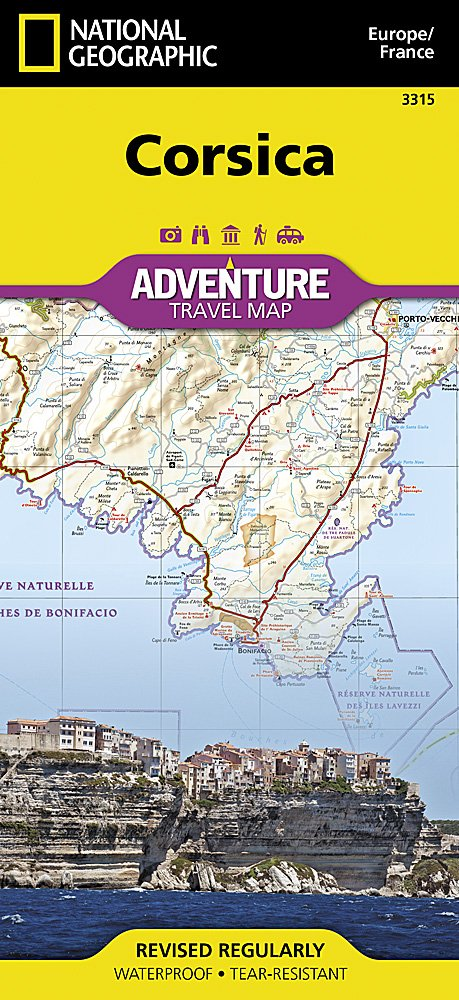 Corsica [France] (National Geographic Adventure Map ...