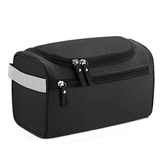 ac0ca814da02 Buruis Toiletry Bag for Men and Women, Waterproof Travel Case Hygiene Dopp  Kit with Hook, Portable Hanging Travel Accessory Organizer for Travel, ...