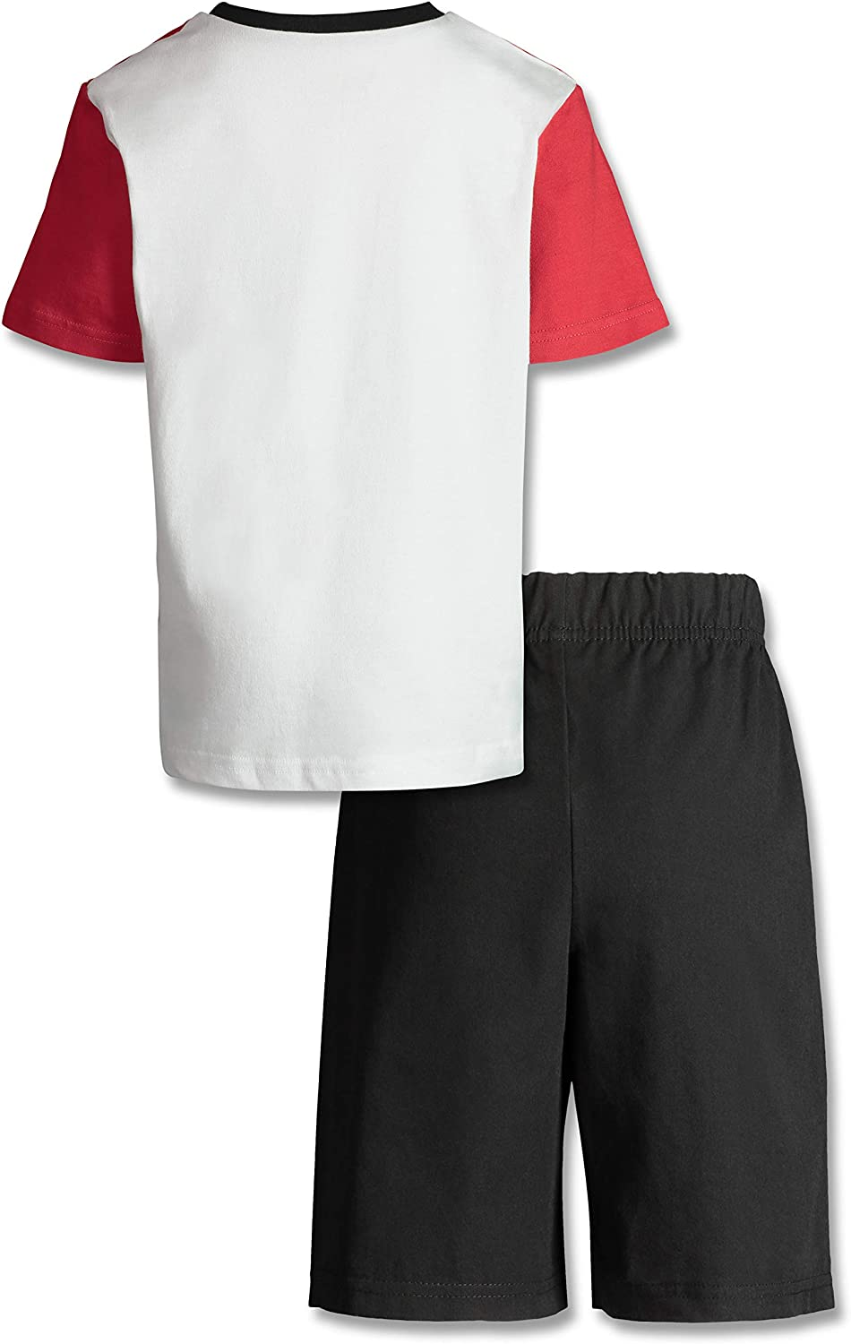Marvel Spiderman Boys T-Shirt and French Terry Shorts Set