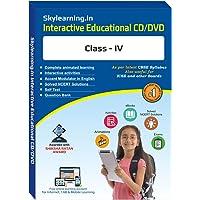 Skylearning CBSE Class 4 CD/DVD Combo Pack (English, Maths, Science, Hindi Vyakaran, Computer, G.K., EVS, Social Science)