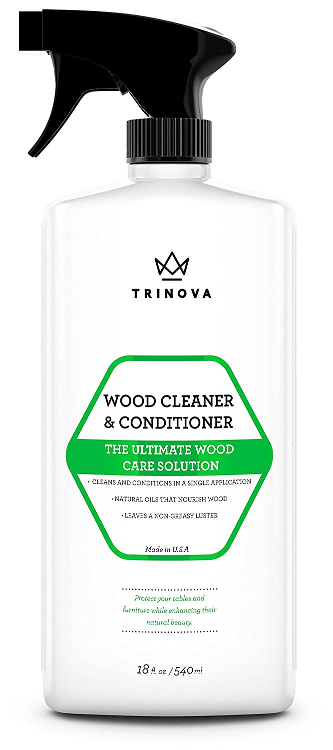 Amazon.com: Wood Cleaner, Conditioner, Wax & Polish - Spray for ...