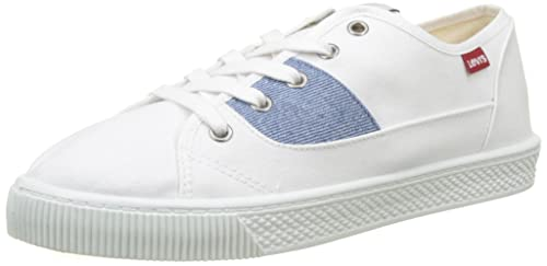 Levis Malibu, Zapatillas para Hombre, Blanco (Brillant White), ...
