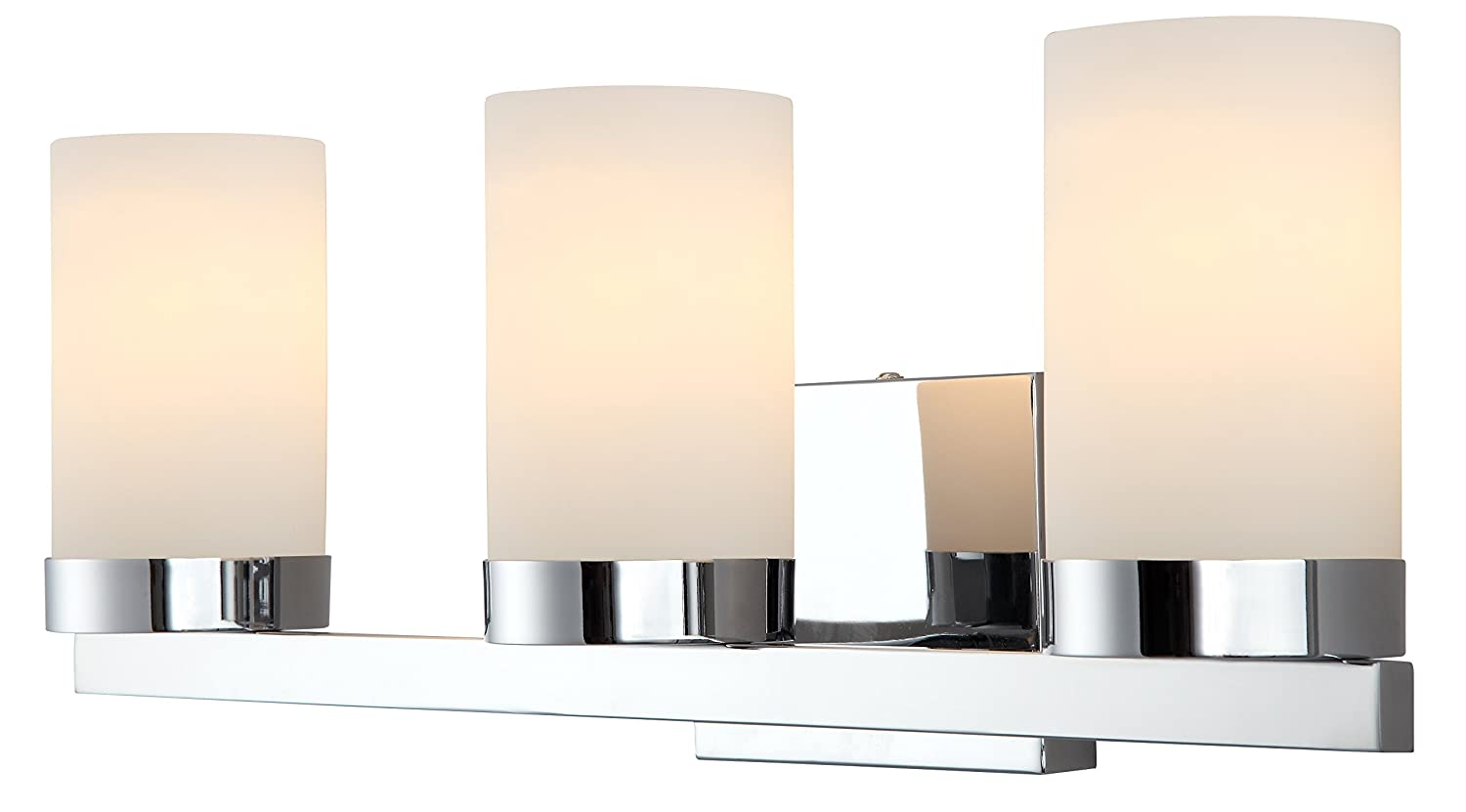 Charming Amazon.com: Canarm IVL429A03CH Milo 3 Light Bath Vanity, Chrome: Home  Improvement Amazing Pictures