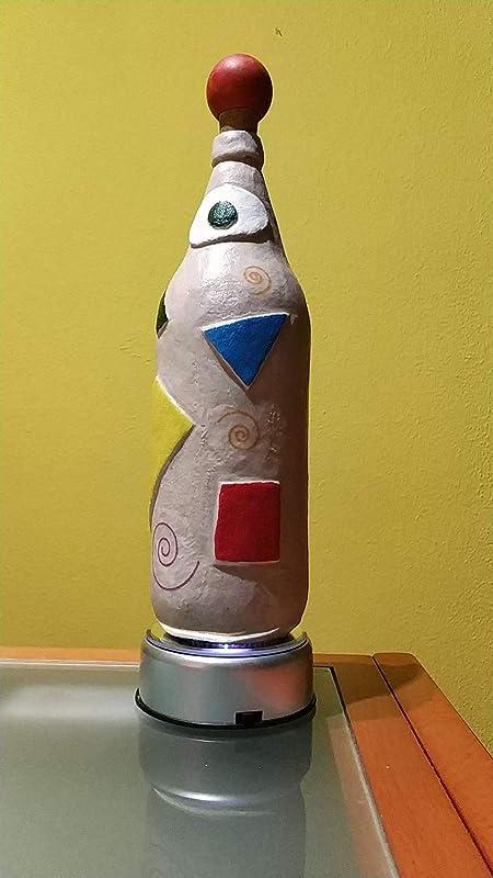 Botellas con suerte - Decoración Botella Reciclada Cruzcampo Arena ...