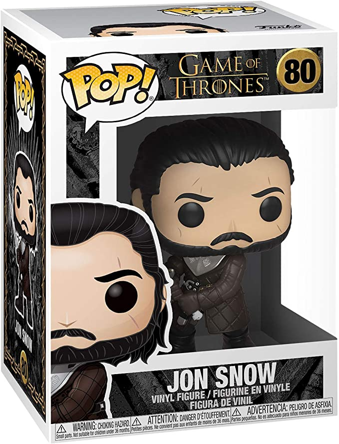 Funko Pop New GOT Television Jon Snow #80  Game of Thrones
