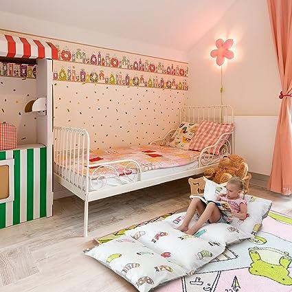 Funda para tumbona cojín DrCosy, Funda de cojines o almohadas para el suelo para niños
