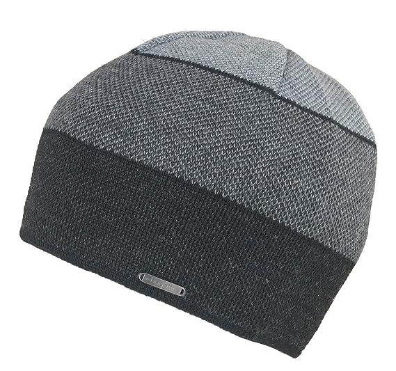 Bugatti - Ensemble bonnet, écharpe et gants - Homme - gris - Taille Unique 0e80d678b34