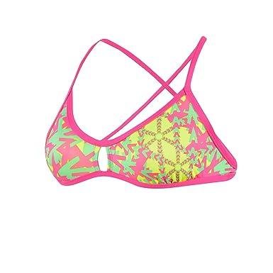 5f8caa462a0a Amazon.com: Dolfin Bellas Printed Bikini Top, Ziggy: Clothing