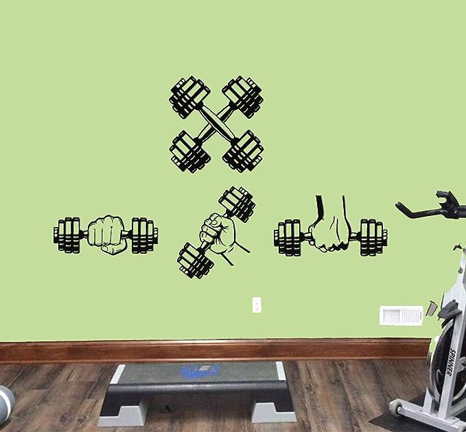 show original title Details about  /Fitness Weight Training Wall Tattoo Wall Sticker Wall Sticker d0618