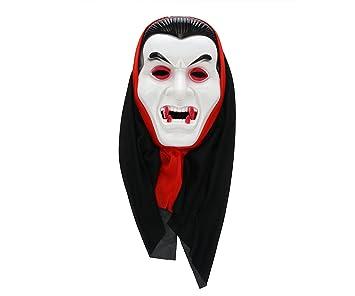 Halloween Masks Uk.Komonee Dracula Vampire White Adult Costume Halloween Mask