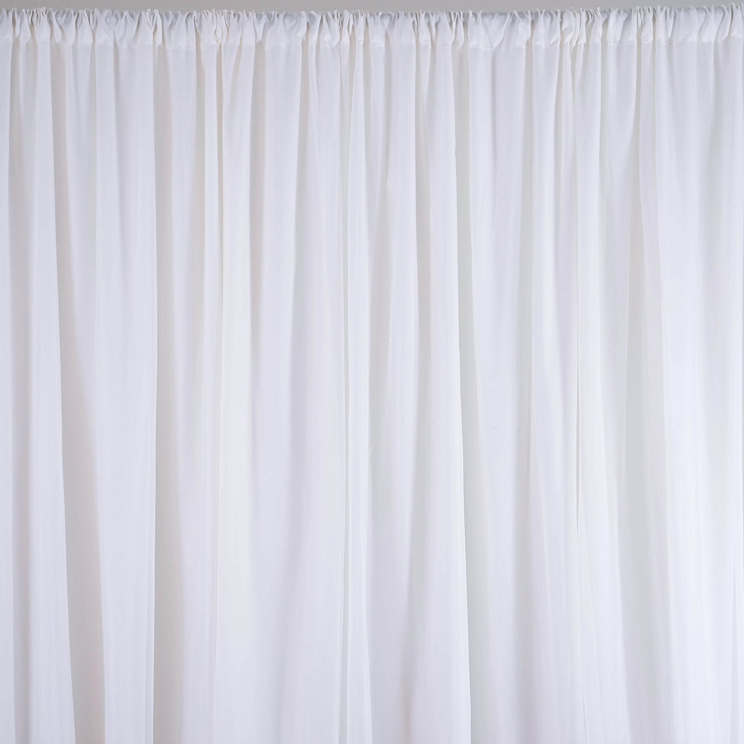 Amazon.com: BalsaCircle 20 Ft X 10 Ft Fabric Backdrop Curtain   2 Colors  Available: Home U0026 Kitchen