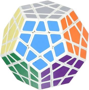 Shengshou Megaminx White Speed Cube