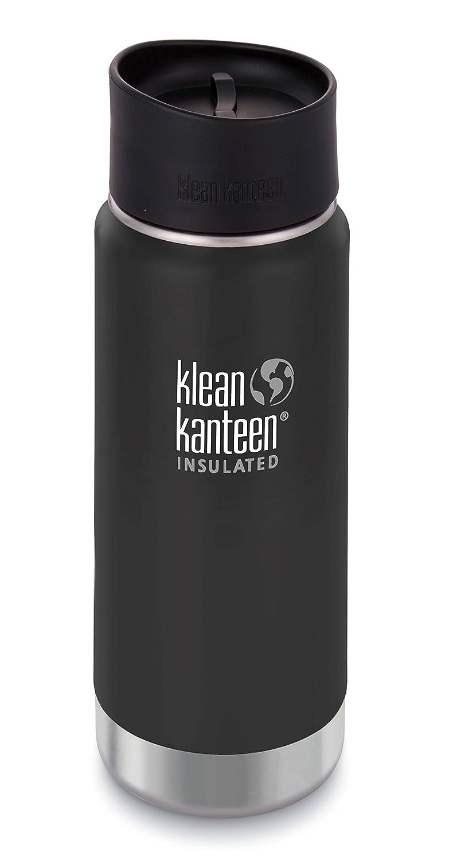 Klean Kanteen – Bidón de Boca Ancha Aislado Botella de Acero Inoxidable con Tapa de cocodrilo Cafe 2.0
