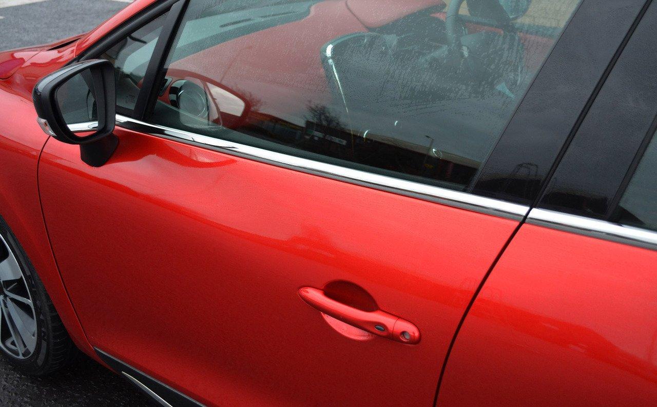 Chrome Porte laté rale Trim de rebord de fenê tre Lot de Couvertures pour s'adapter au Clio IV (2012 +) ALVM Parts & Accessories