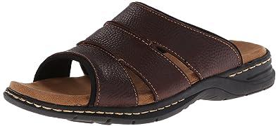 browse for sale free shipping deals Dr. Scholl's Gordon Men's ... Leather Slide Sandals outlet discount authentic discount footlocker finishline clearance deals 9lSaMjro