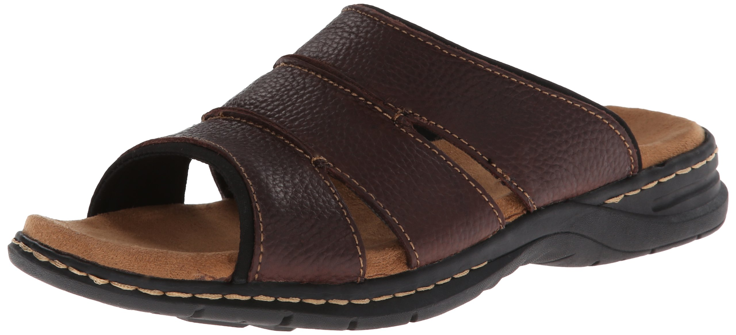 Dr. Scholl's Men's Gordon Fisherman Sandal, Brown, 11 M US