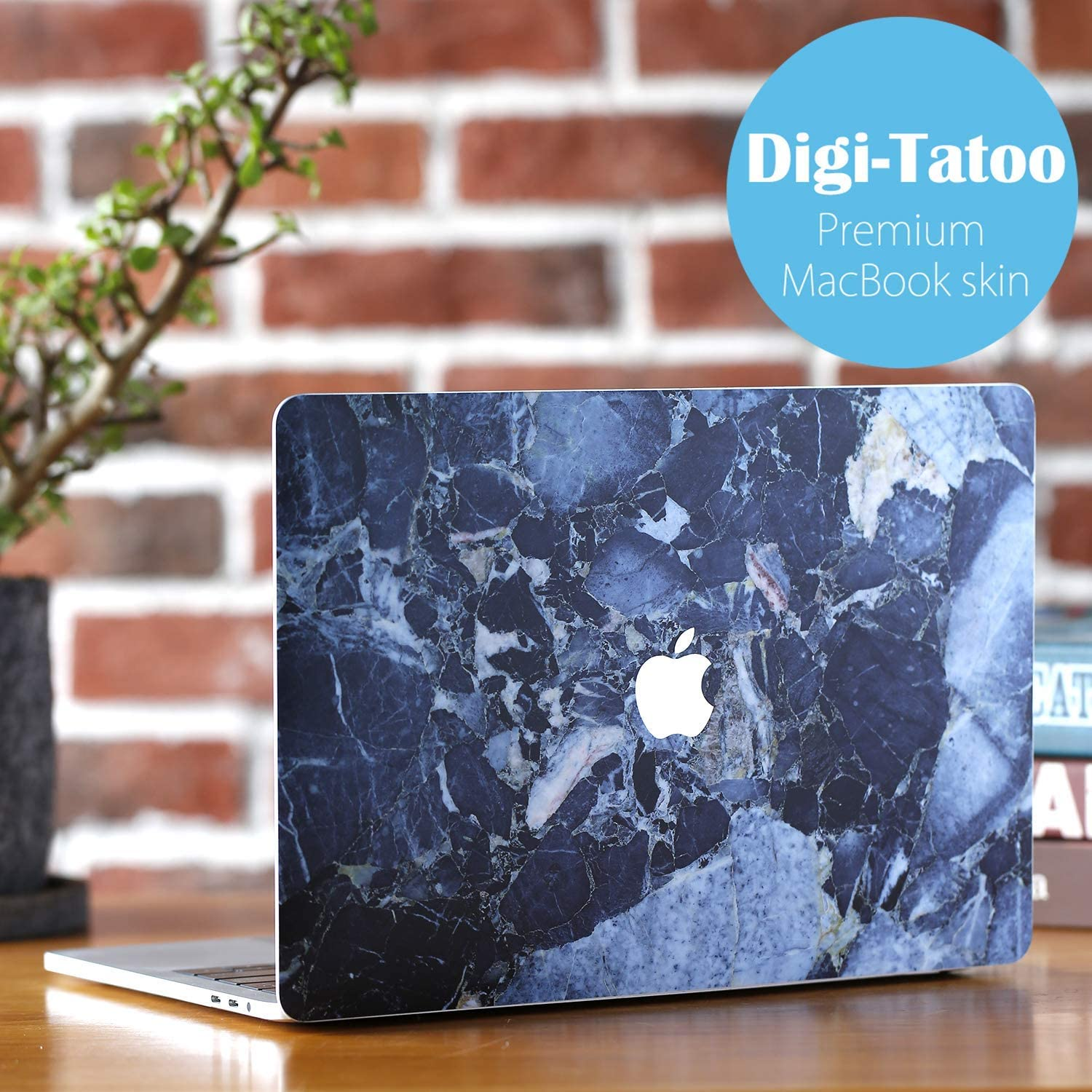 Residue Free Vinyl Skin Model A1708 Wood Texture 2 Digi-Tatoo MacBook Skin Decal Sticker Compatible With Macbook Pro 13 inch w//o Touch Bar Anti-Scratch Easy Apply