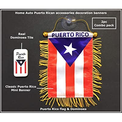 Puerto Rico Dominoes, Puerto Rican Dominoes Game set, Boricua style: Toys & Games