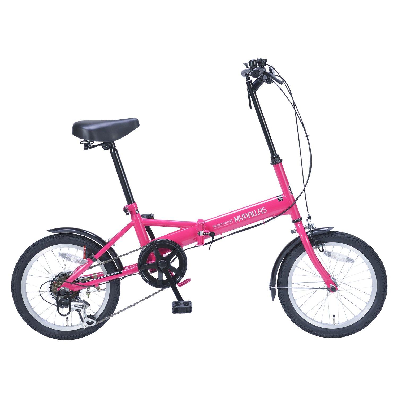 マイパラス 折畳自転車 16型 M-102