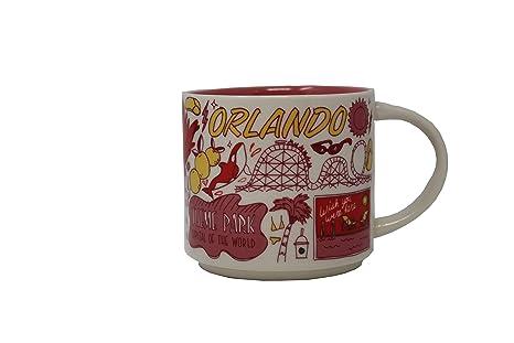 312f6e4d24d Amazon.com | Starbucks Orlando Been There Series (BTS) 14 Ounce Mug ...