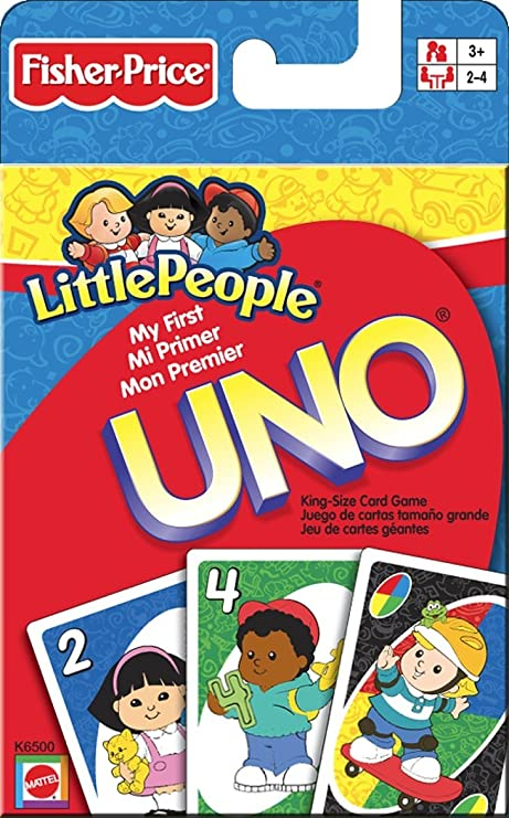 Amazon.com: Little People My First Uno Card Game: Toys & Games