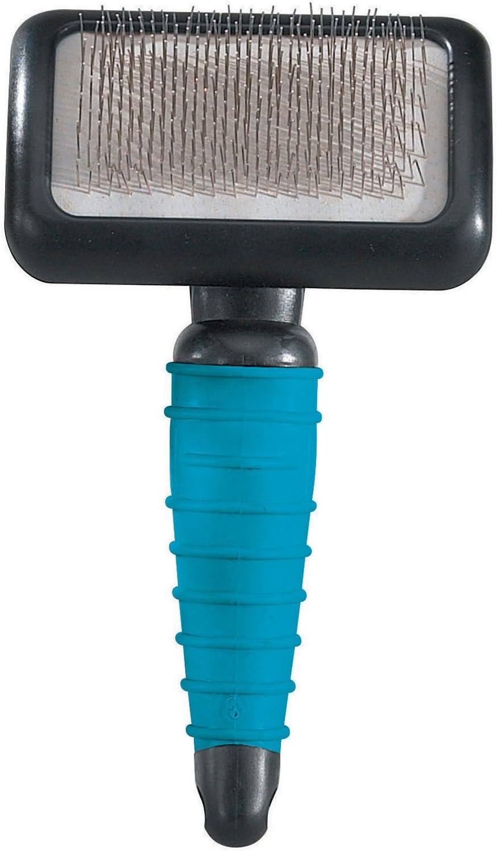 "Master Grooming Tools Ergonomic Slicker Brushes — Molded Brushes for Grooming Dogs - Medium, 4"" x 2½"""