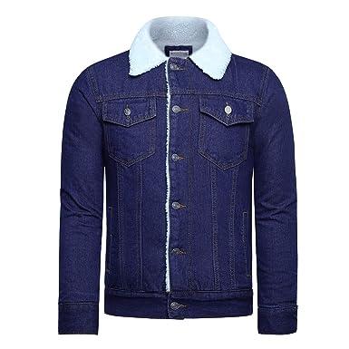 Youthup Regular Herren Warm Jeans Winter Fit Jacke Jacket Nw0y8vmnO