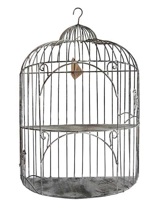 Estantería con jaulas de pájaros~~decoración diseño de estantería ...