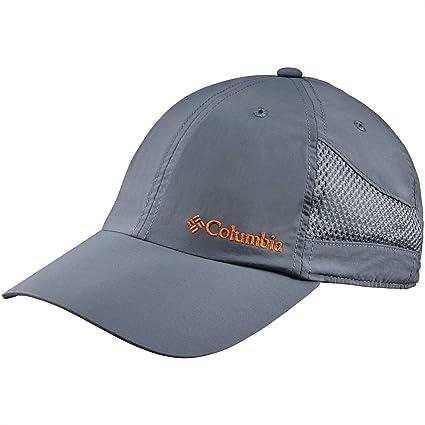 Columbia Gorra unisex, Tech Shade Hat, Nailon, Gris (Graphite), Talla