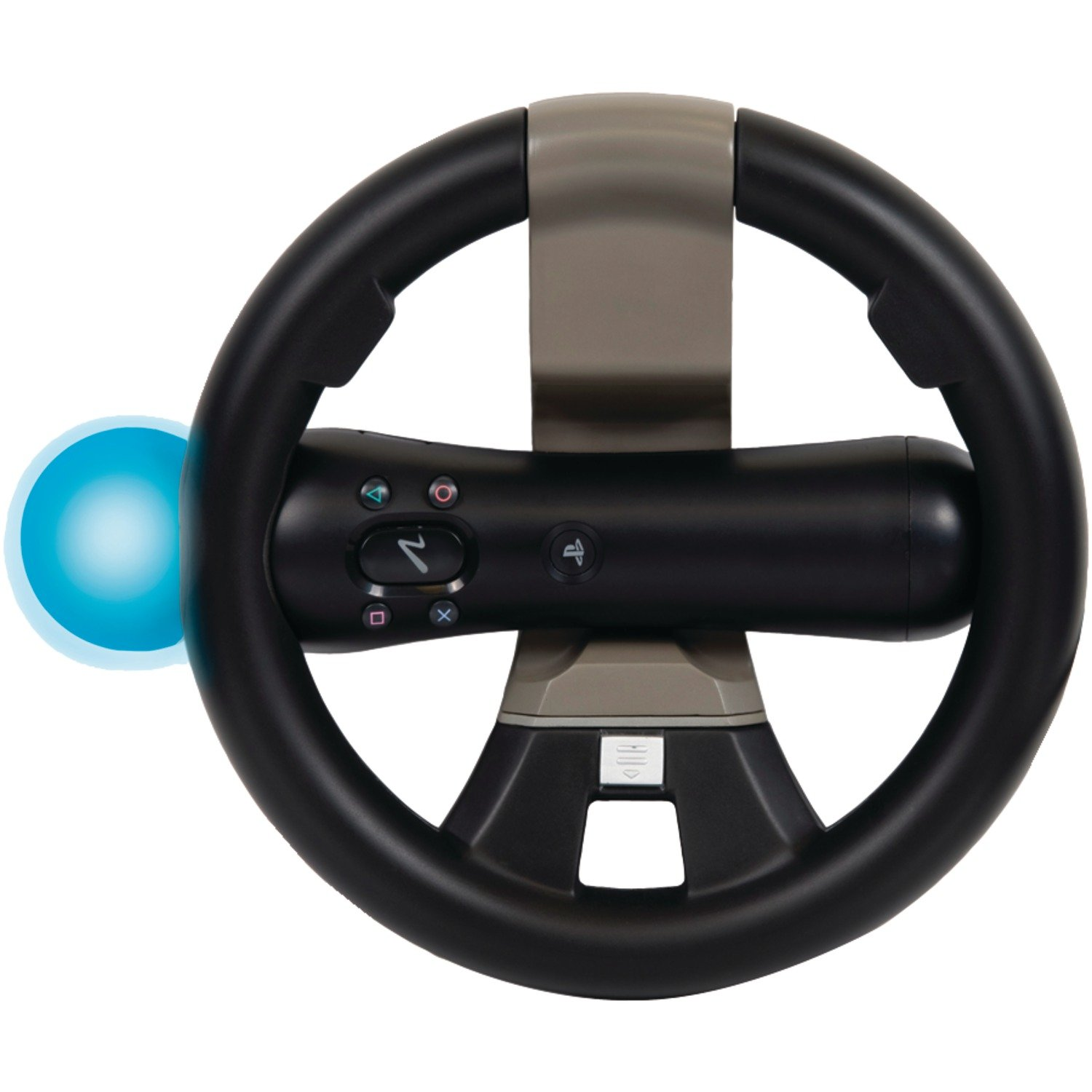 PlayStation Move and DualShock Racing Wheel