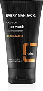 product image for Every Man Jack Charcoal Face Wash, Skin Clearing, Fragrance Free, 5-ounce